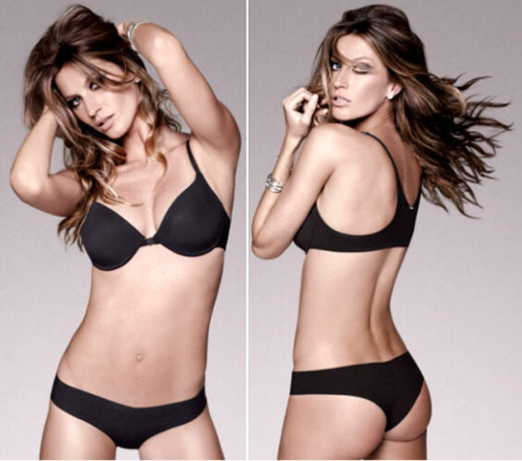 Corpo retangular lingerie