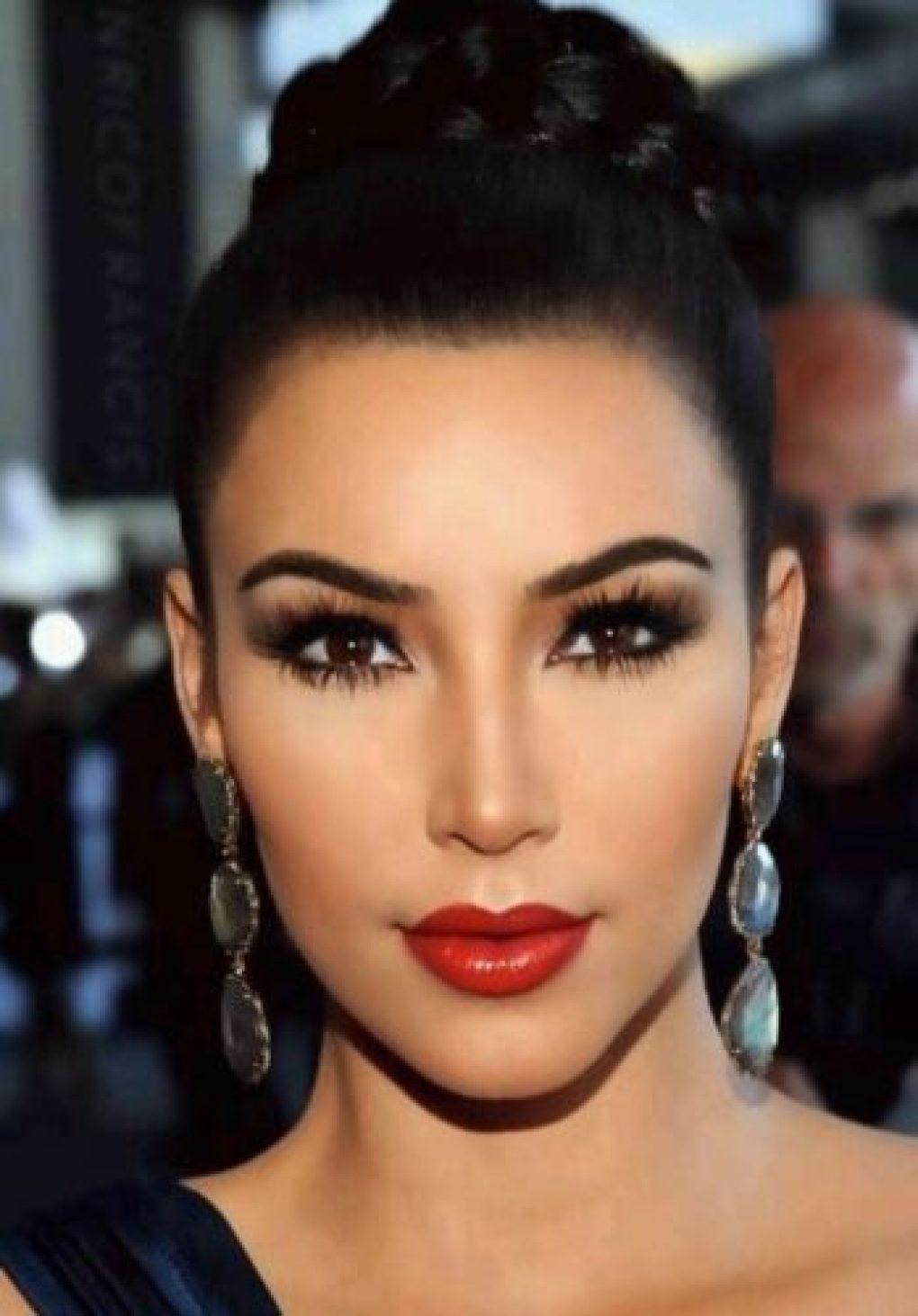Looks de final de ano Kim Kardashian Beauty Color