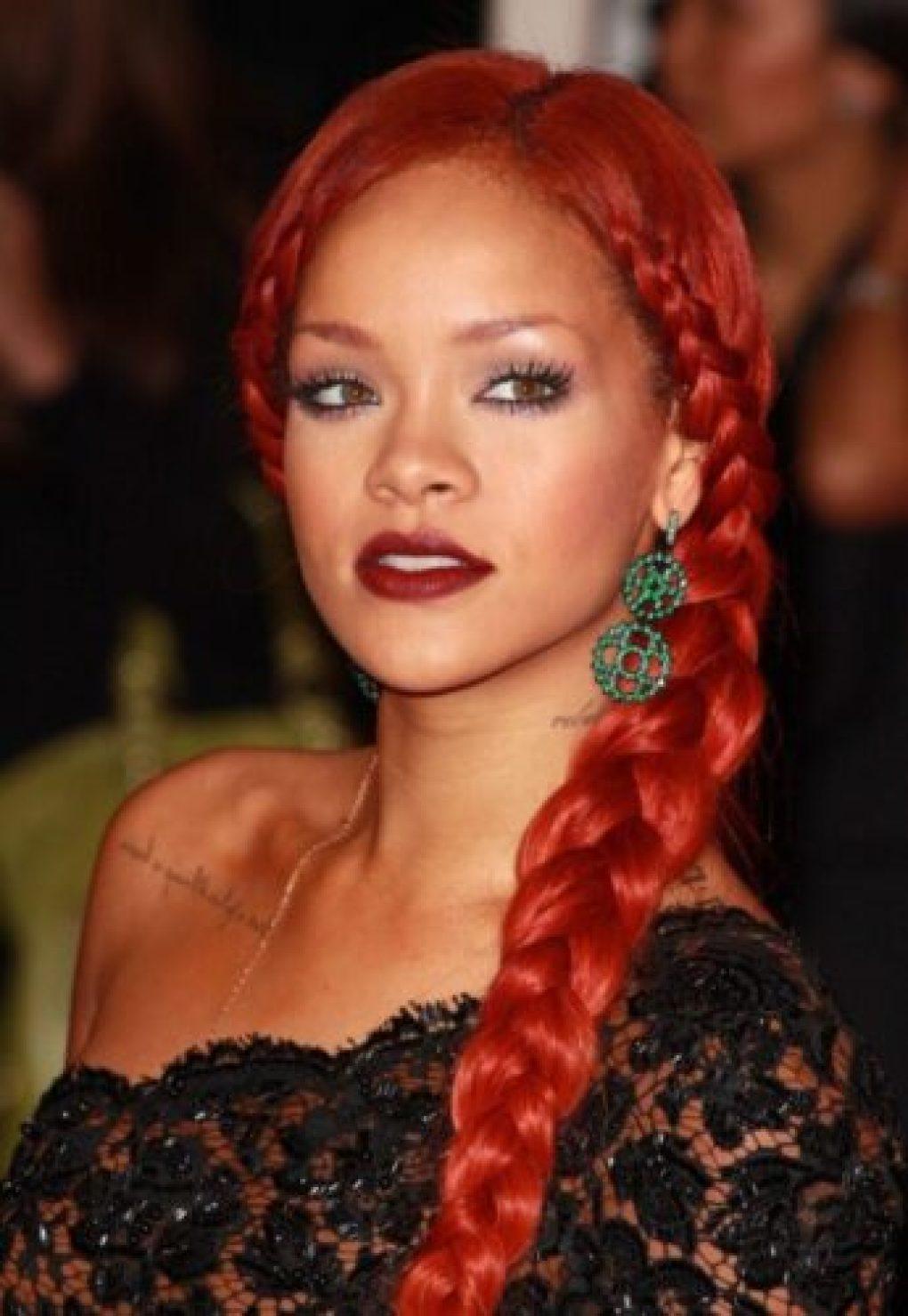 Rihanna Carol Sisson tranças