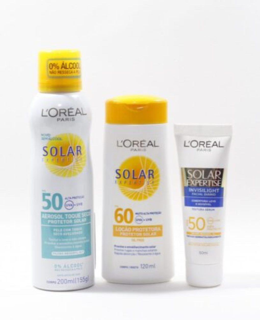 Resenha: Protetores Solar Expertise da L'Oréal Paris