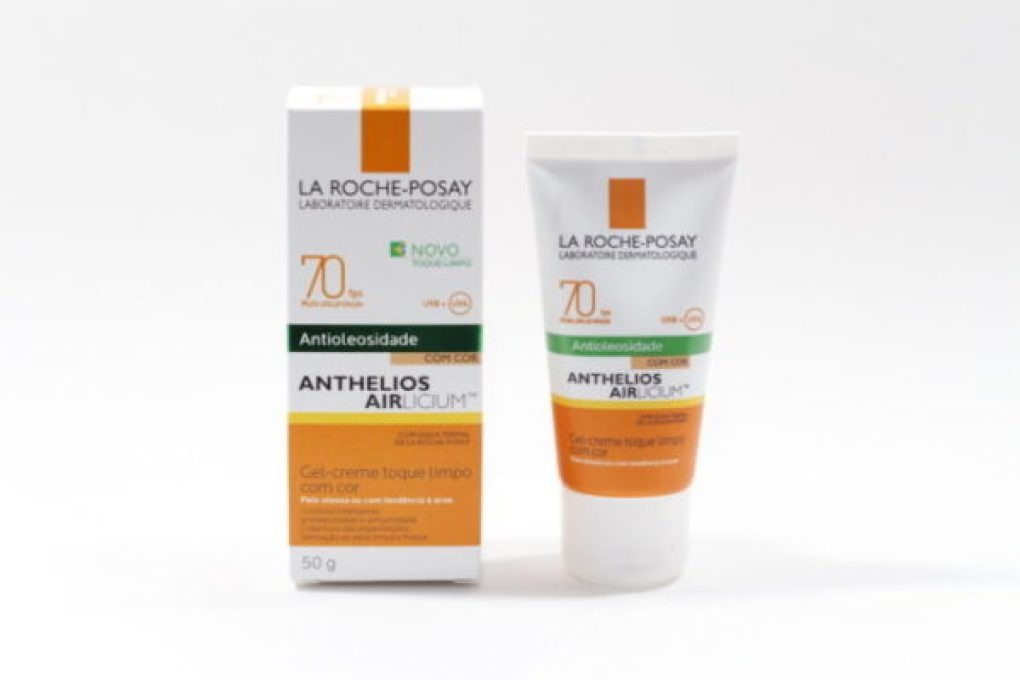 Resenha: Protetor Solar Airlicium com cor FPS 70 da La Roche-Posay
