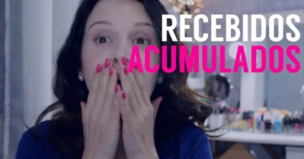 Vídeo: Recebidos e acumulados