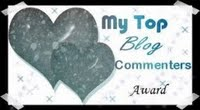 My Top Blog Commenters Award