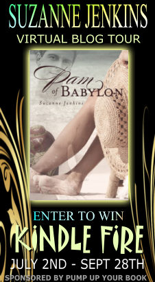 Guest Post by Suzanne Jenkins, author of Pam of Babylon (with Kindle Fire Giveaway)