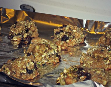 Weekend Cooking: Zucchini Oatmeal Cookies