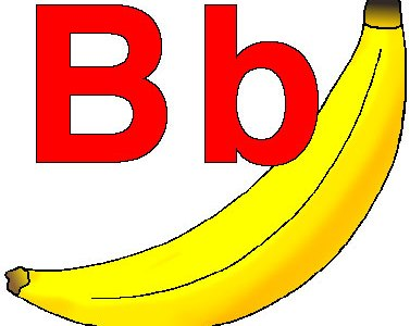 B is for Bananas