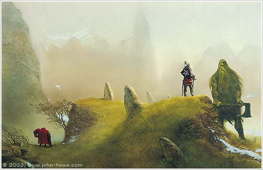 John Howe, Sir Gawain and the Green Knight, 1995