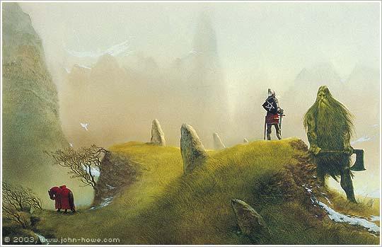 John Howe, Sir Gawain and the Green Knight, 1995