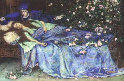 """Sleeping Beauty"" Henry Maynell Rheam"