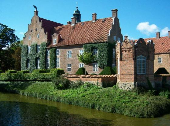 Trolle Ljungby Slott manor house in  Sweden