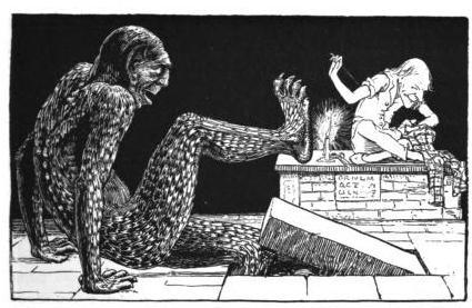 Illustration by John D. Batten