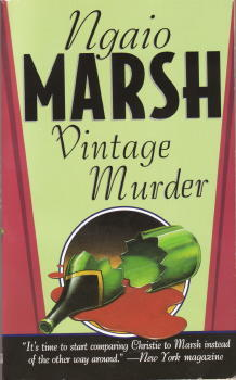 V is for Vintage Murder