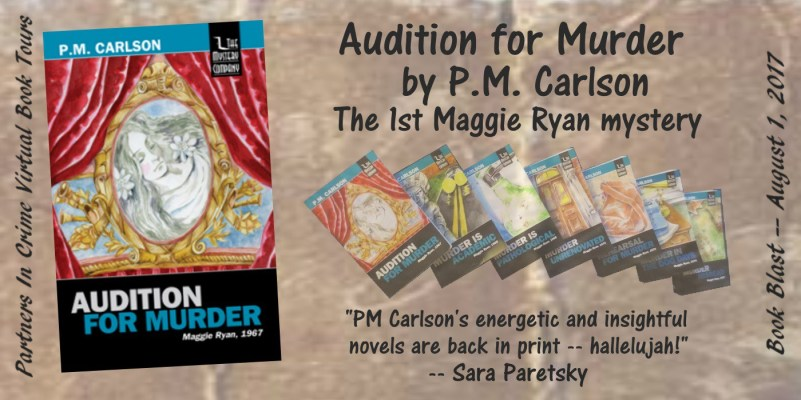Book Blast: Audition for Murder by P. M. Carlson