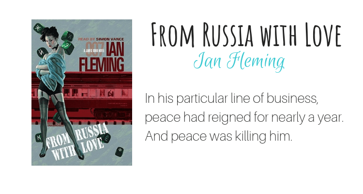 From Russia with Love by Ian Fleming