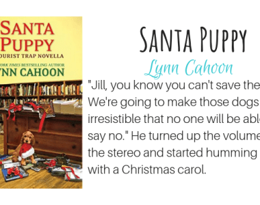 Santa Puppy by Lynn Cahoon