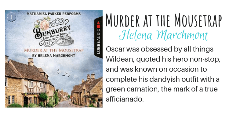 Murder at the Mousetrap by Helena Marchmont