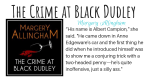 The Crime at Black Dudley featured