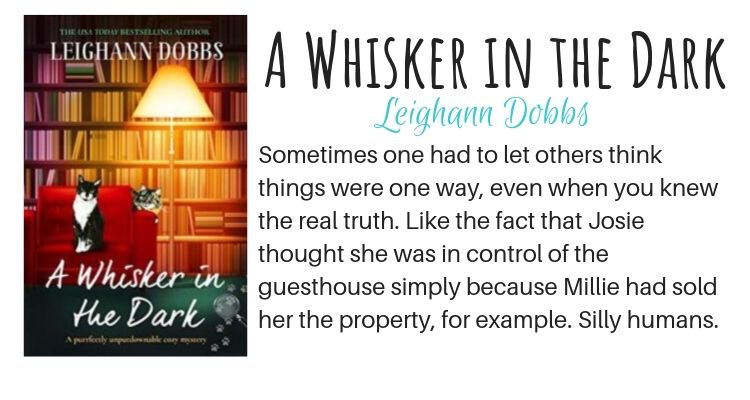 A Whisker in the Dark by Leighann Dobbs