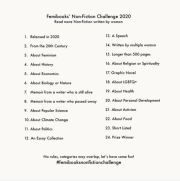 Femibooks Non-Fiction Challenge 2020