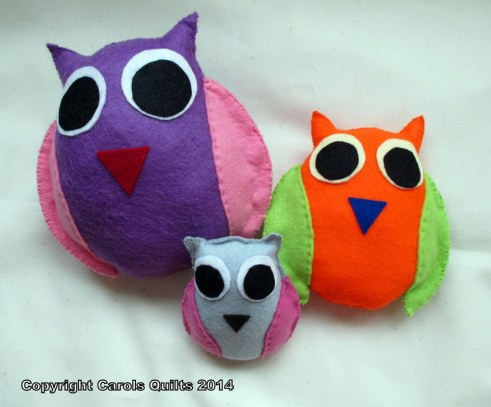 Show-and-Tell-Felted-Owls