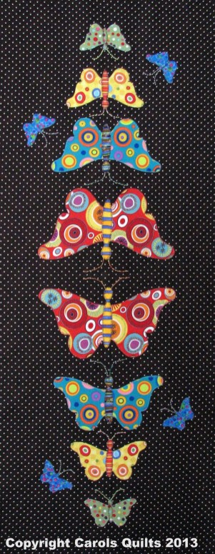 Carols Quilts Butterflies with Copyright