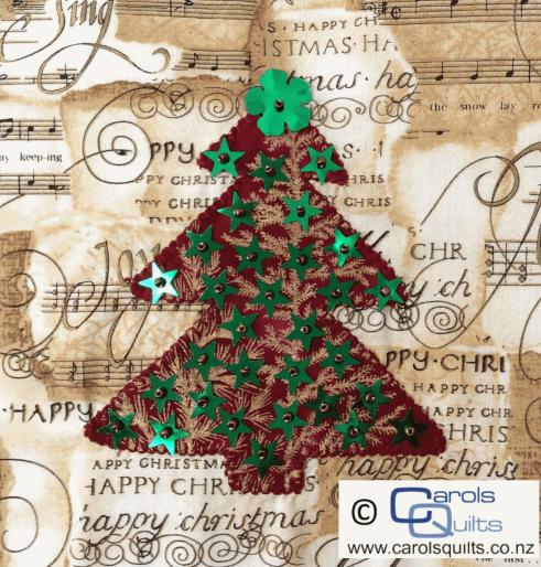 Carols Quilts Christmas Tree 4