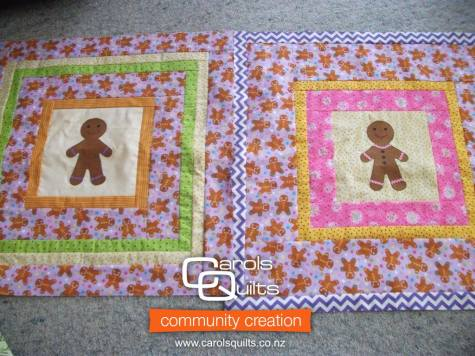 Gingerbread man from betty with Community Creation