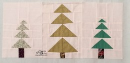 Carols Quilts Patchwork Trees