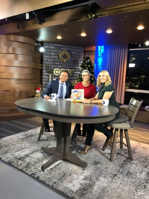 Lilly's Debute on CTV Live Morning Show!