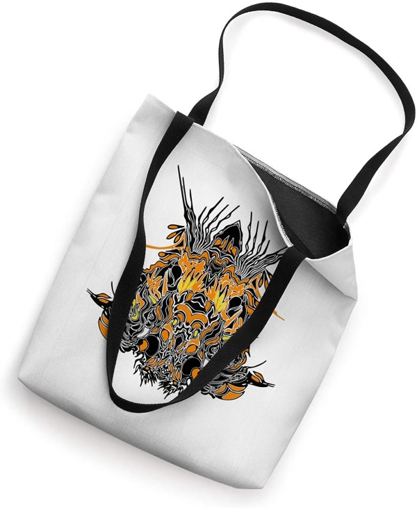 Animal Head Design on a tote bag available on Amazon