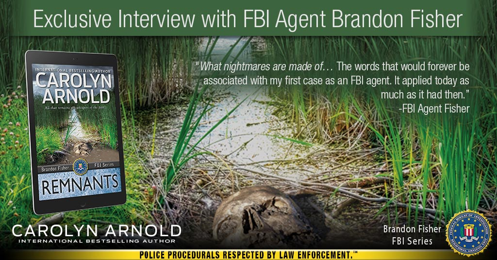 Exclusive Interview with FBI Agent Brandon Fisher