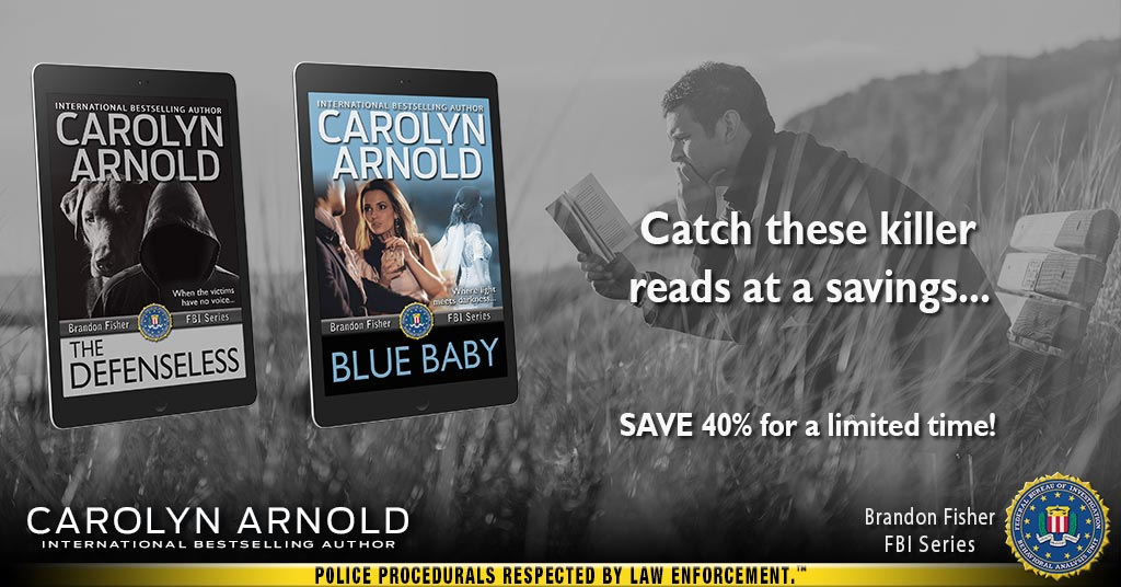 SAVE on select BESTSELLING Brandon Fisher FBI #Thrillers for a limited time!