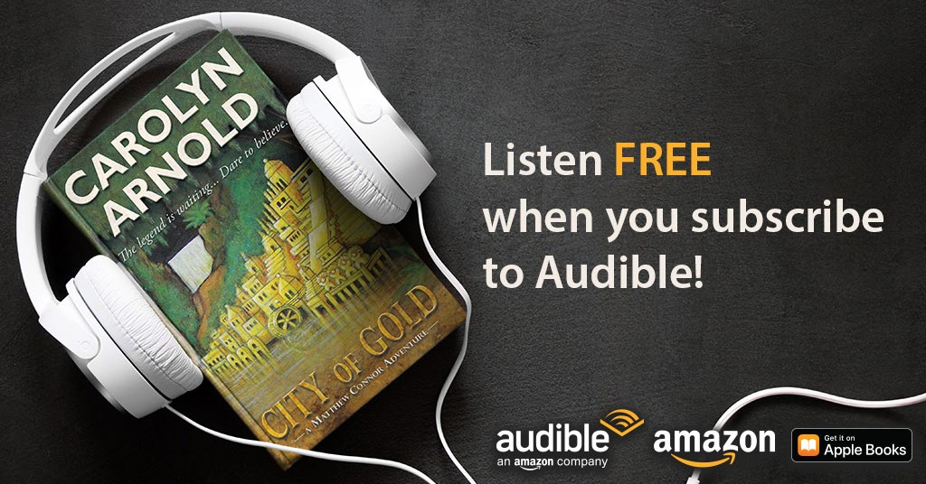 An #Adventure You Can Listen To! City of Gold Is Now Available in #Audiobook!