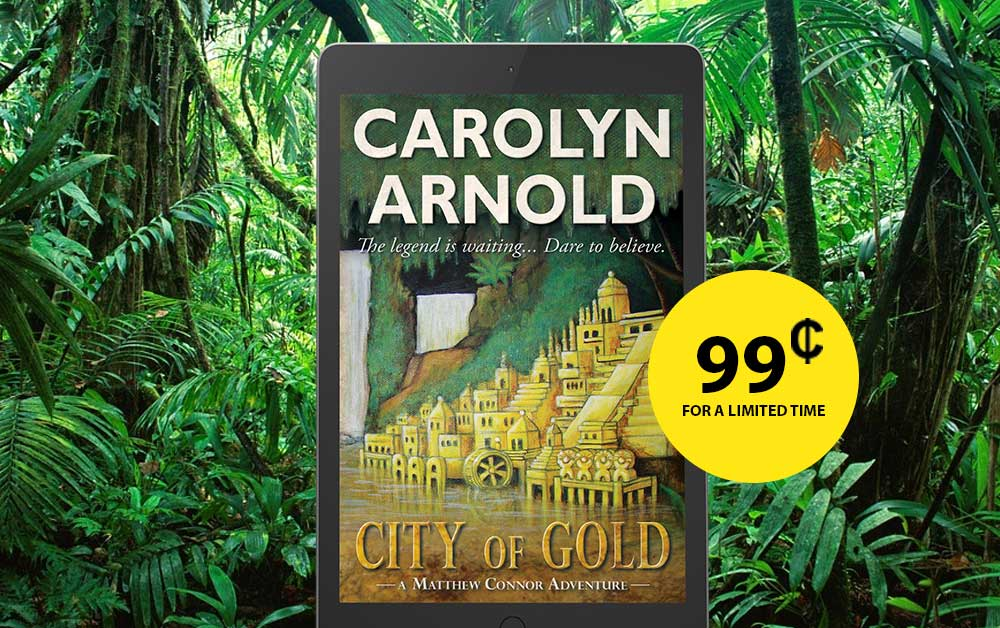 Craving an Adventure? CITY OF GOLD Is Only #99 Cents for a Limited Time!