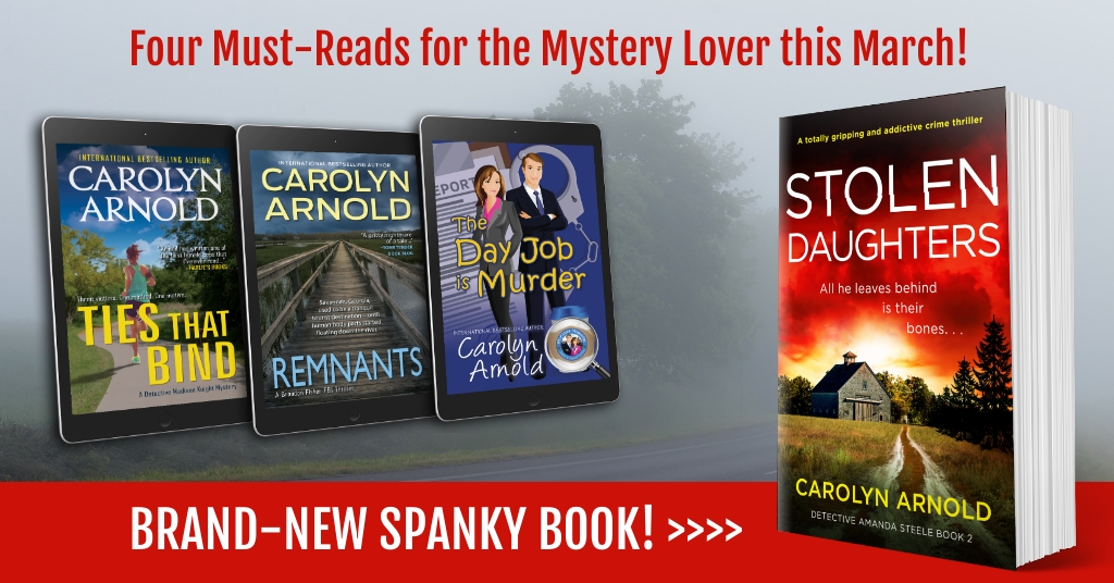 Four #MustReads for the Mystery Lover this March!