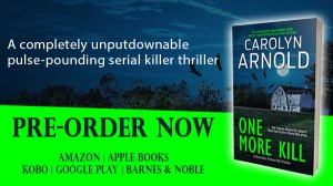 One More Kill is a totally gripping and heart-pounding crime thriller, in which FBI Special Agent Brandon Fisher and his team hunt an elusive serial killer.