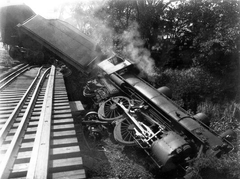 The Cars Are Coming Off The Rails, By Mike Ruppert