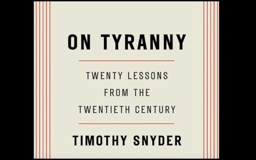 It's Pretty Much Inevitable That Trump Will Try To Stage A Coup And Overthrow Democracy, An Interview With Timothy Snyder, Yale Historian