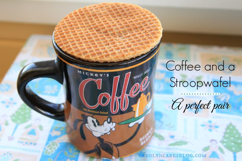 Stroopwafel and Coffee traditional Dutch treats