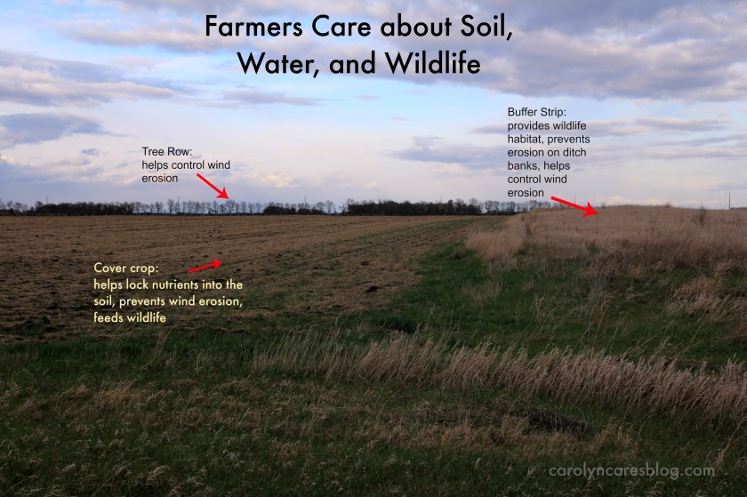 farmers care about soil, water, and wildlife
