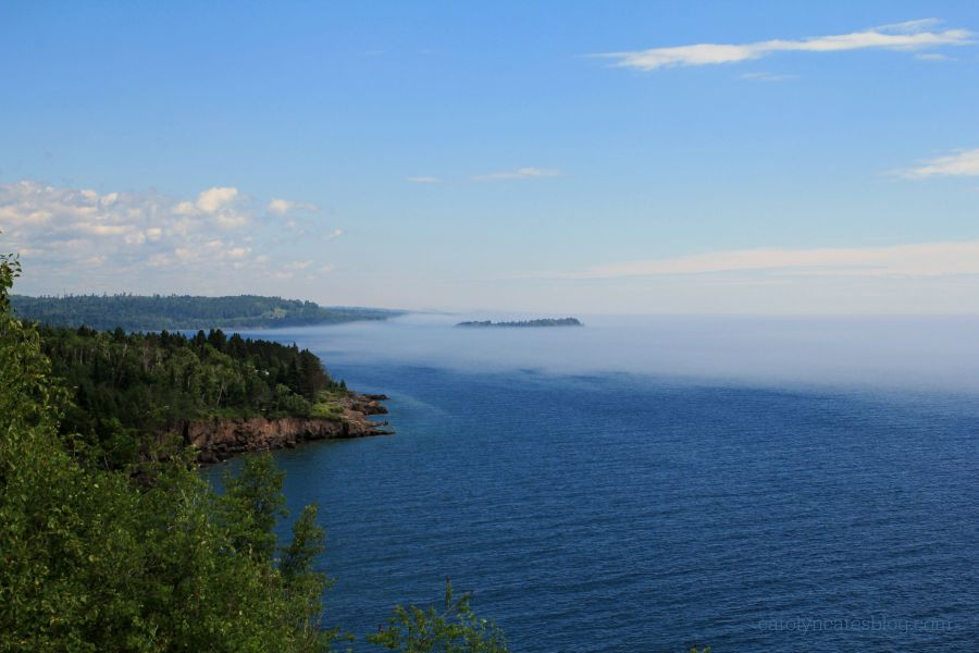 Looking North along Lake Superior