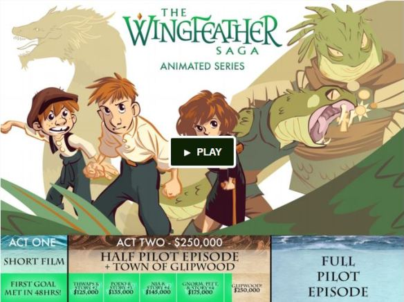 Wingfeather Kickstarter