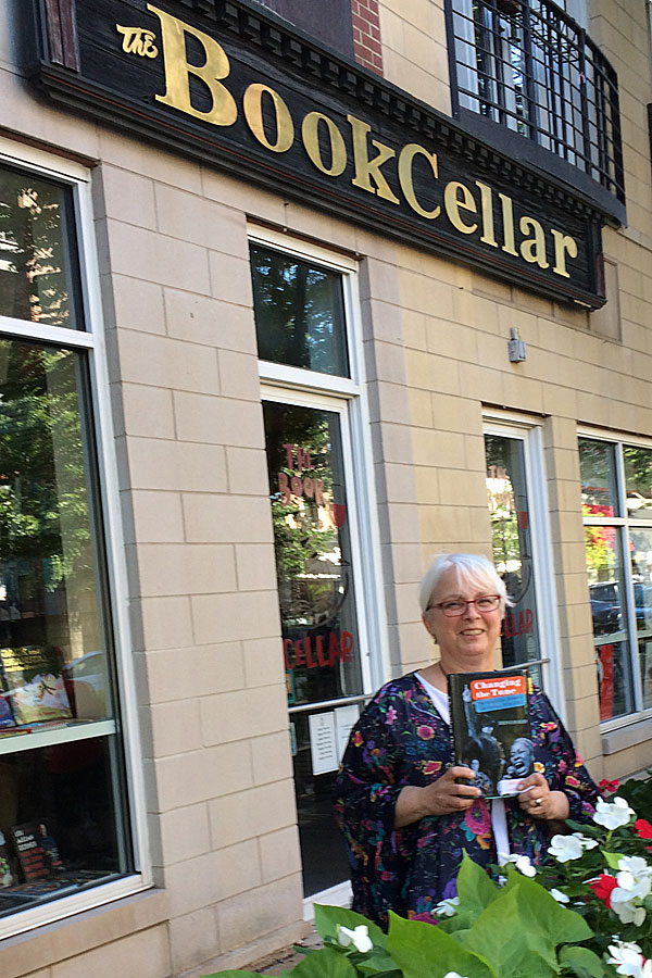 Reading at the Book Cellar in Chicago