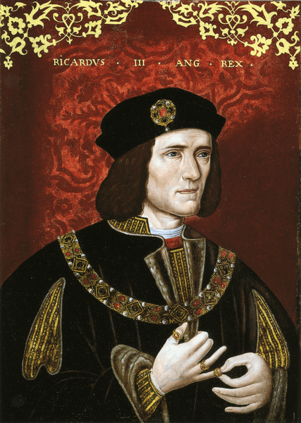 King Richard III, by unknown artist, late 16th century.