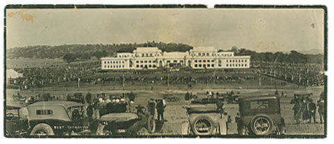 Opening of Parliament House in May 1927