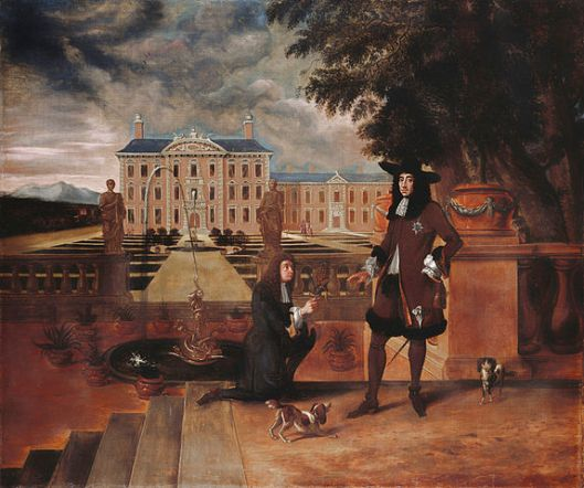 Charles II given the first pineapple grown in England by his royal gardener, John Rose, in 1675.