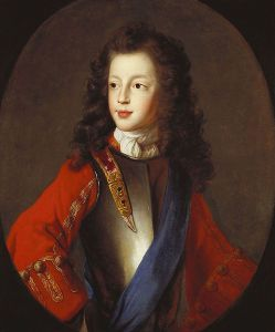 James Francis Edward Stuart, c1703. Attributed to Alexis Simon Belle (1674-1734)
