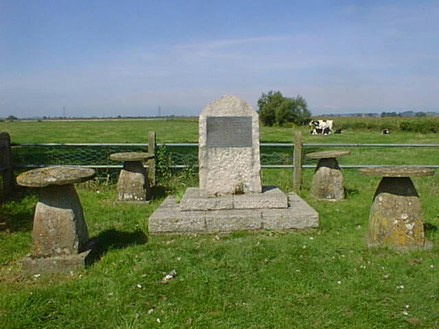 Battle of Sedgemoor Memorial. Photo by Rog Frost.