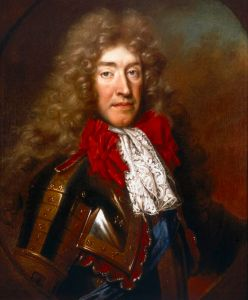 King James II of England and VII of Scotland. Portrait by Nicolas de Largillière, c 1686.