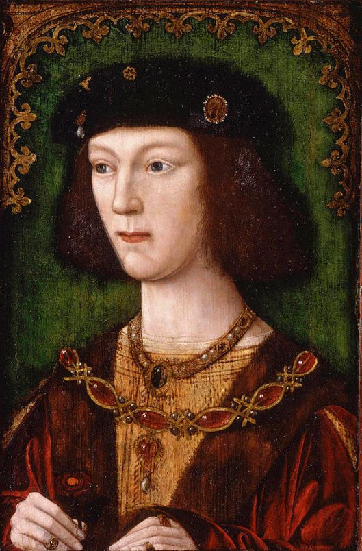 Eighteen-year-old Henry VIII after his coronation in 1509